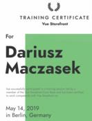 Dariusz Mascasek - Vue Storefront Developer