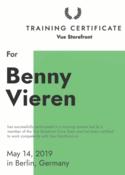 Benny Vieren - Vue Storefront Developer